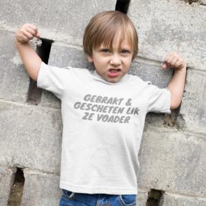 Grappig t-shirt voor kinderen